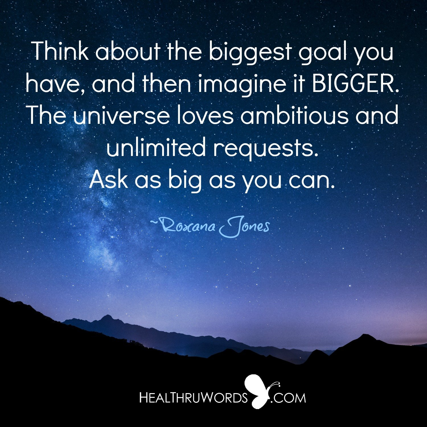 Inspirational Image: Bigger than your Mind