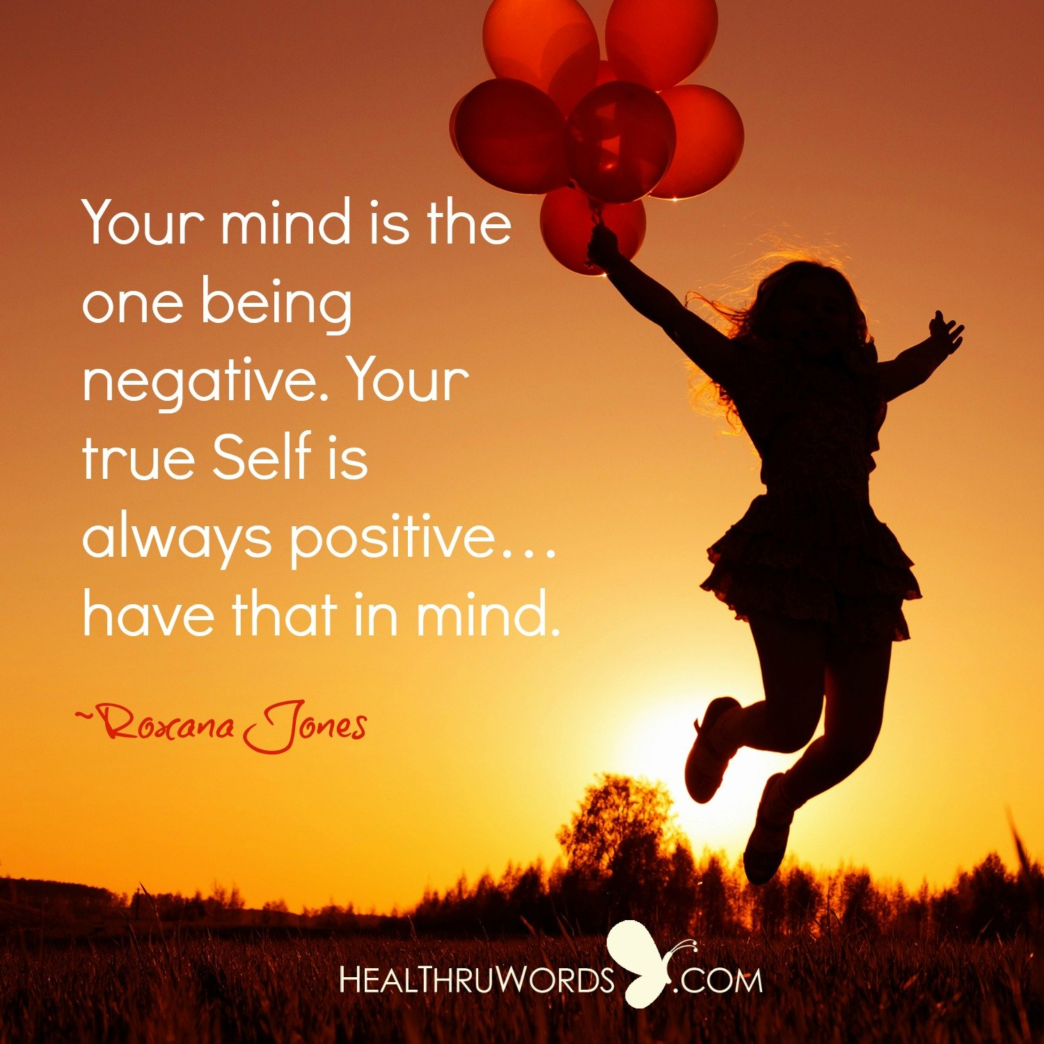 Inspirational Image: Mental Negativity