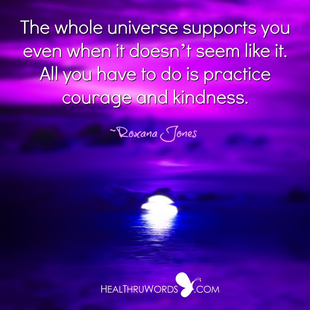 Inspirational Quote - Universal Support