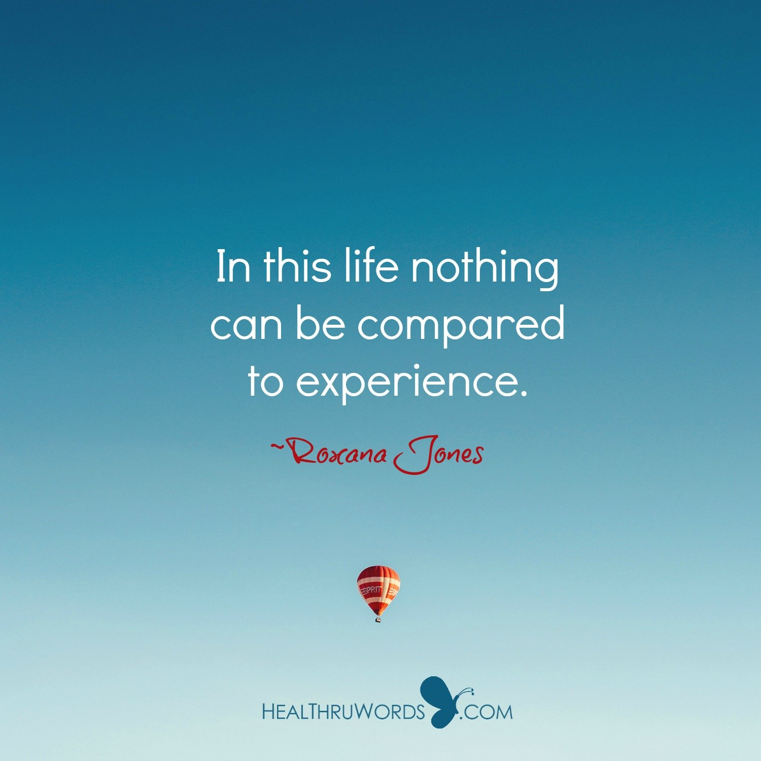 Inspirational Image: Experiences