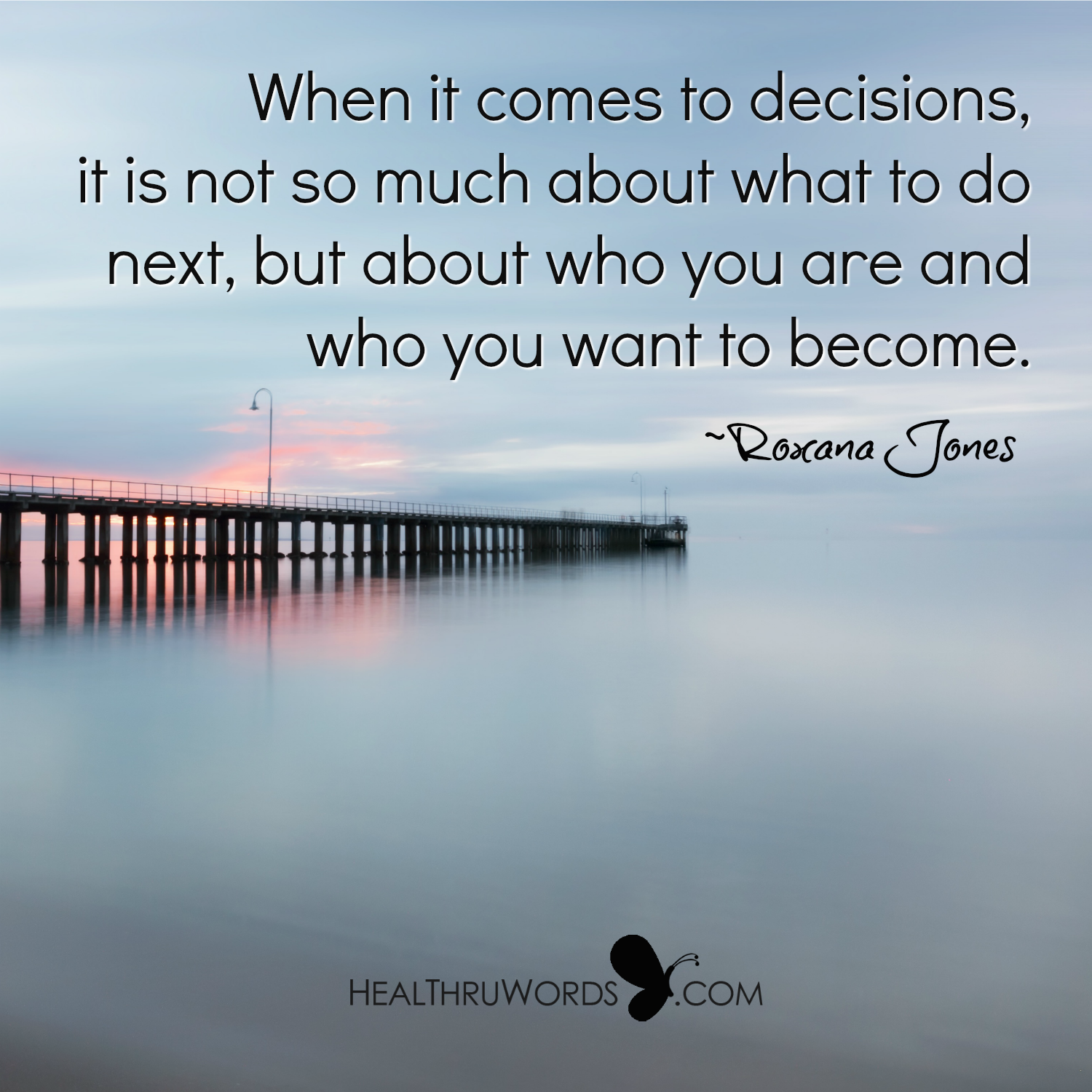 Inspirational Image: Real Decisions