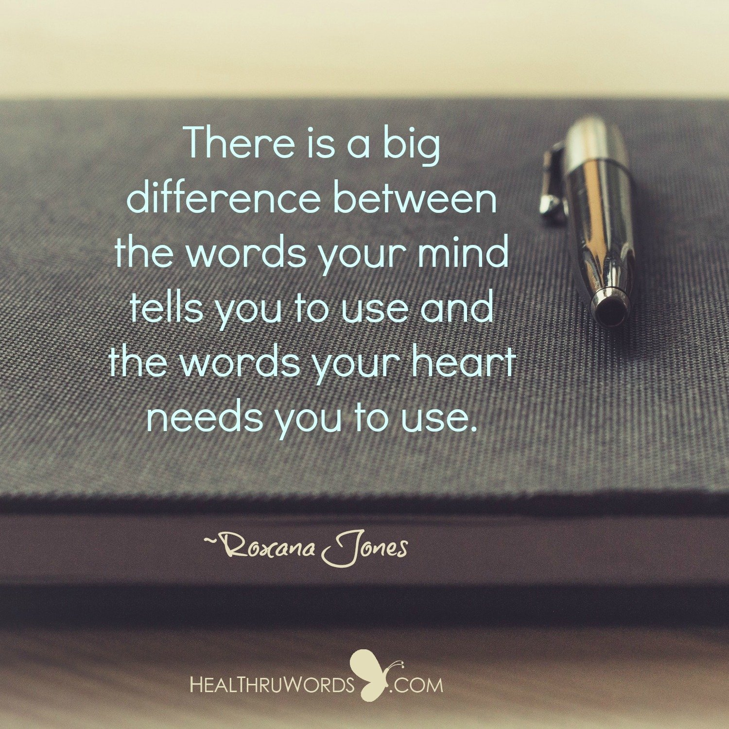 Inspirational Image: The words that you use