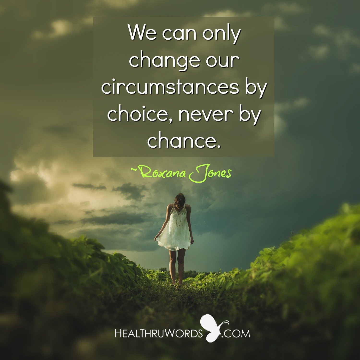 Inspirational Image: Choice or Chance