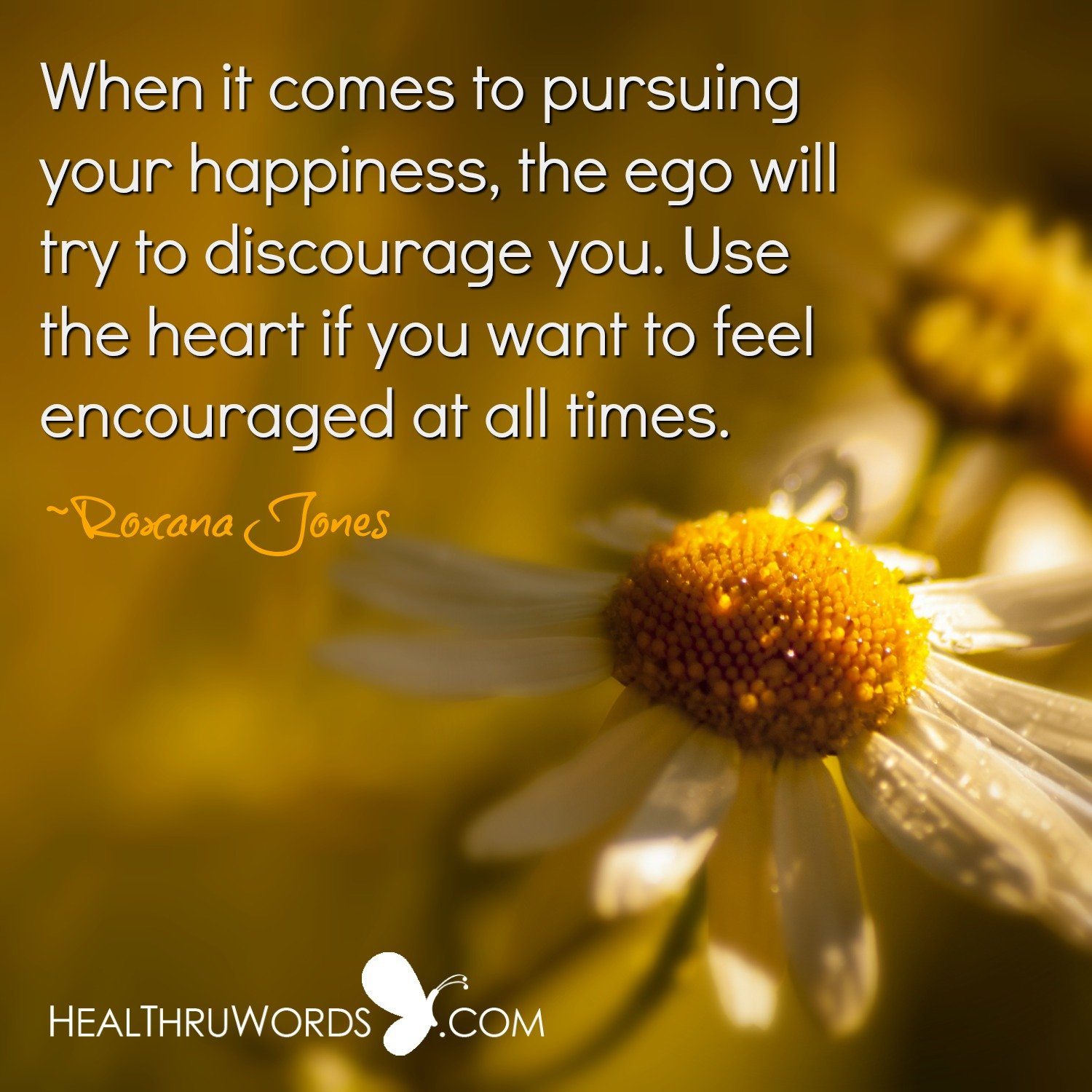 Inspirational Image: Encouraging Heart