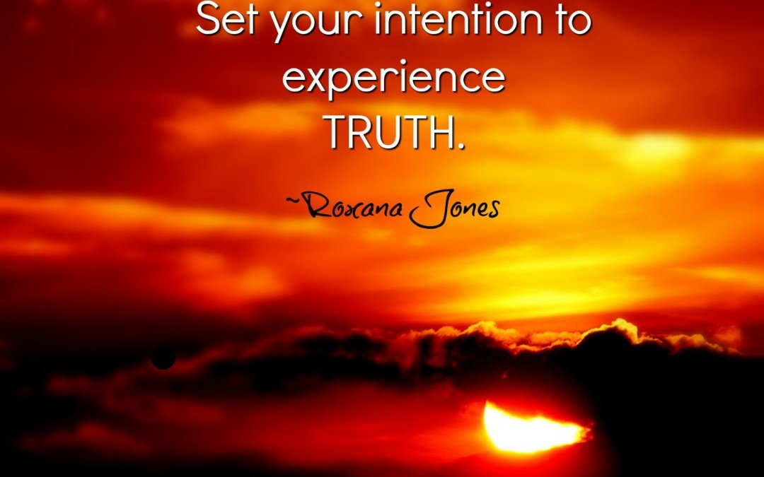 Intention First