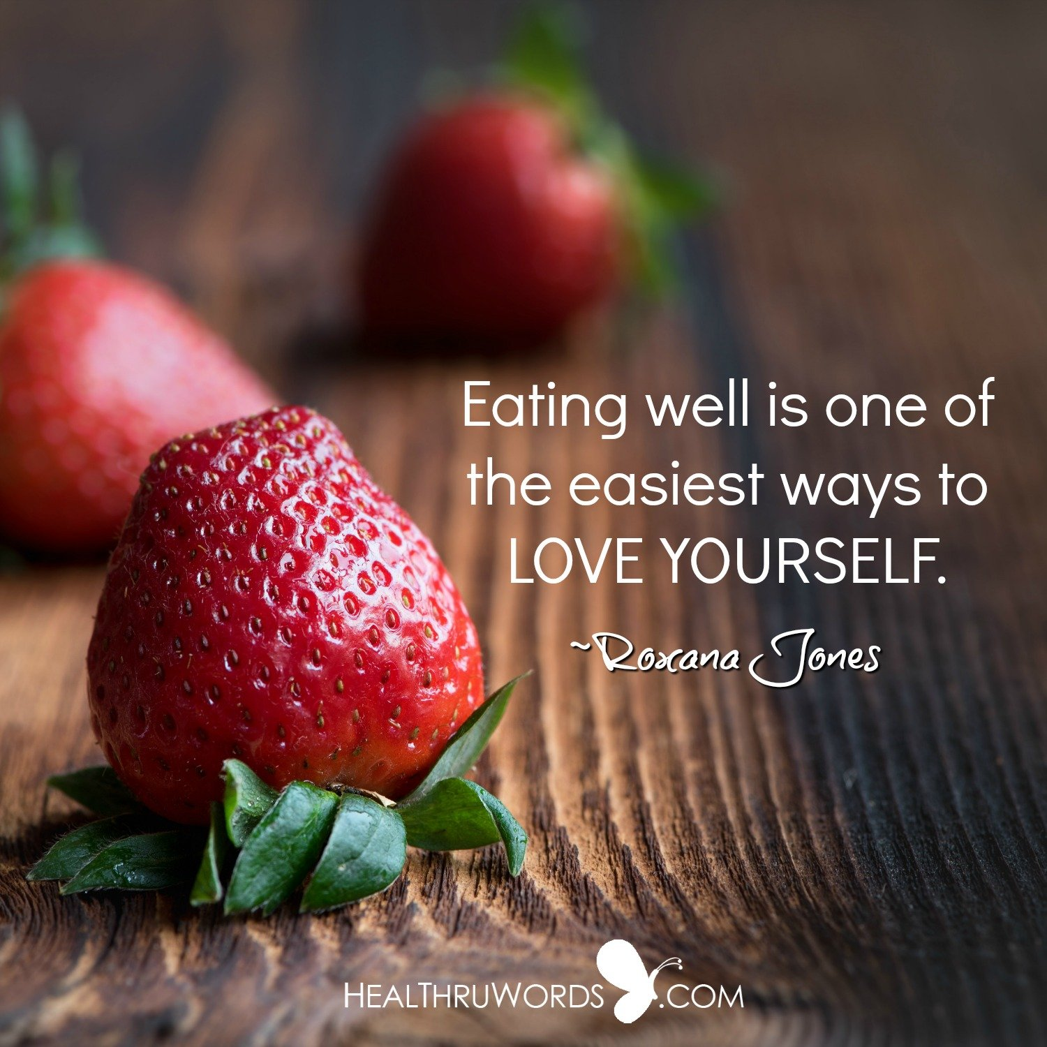 Inspirational Image: Nutrition and Self-love