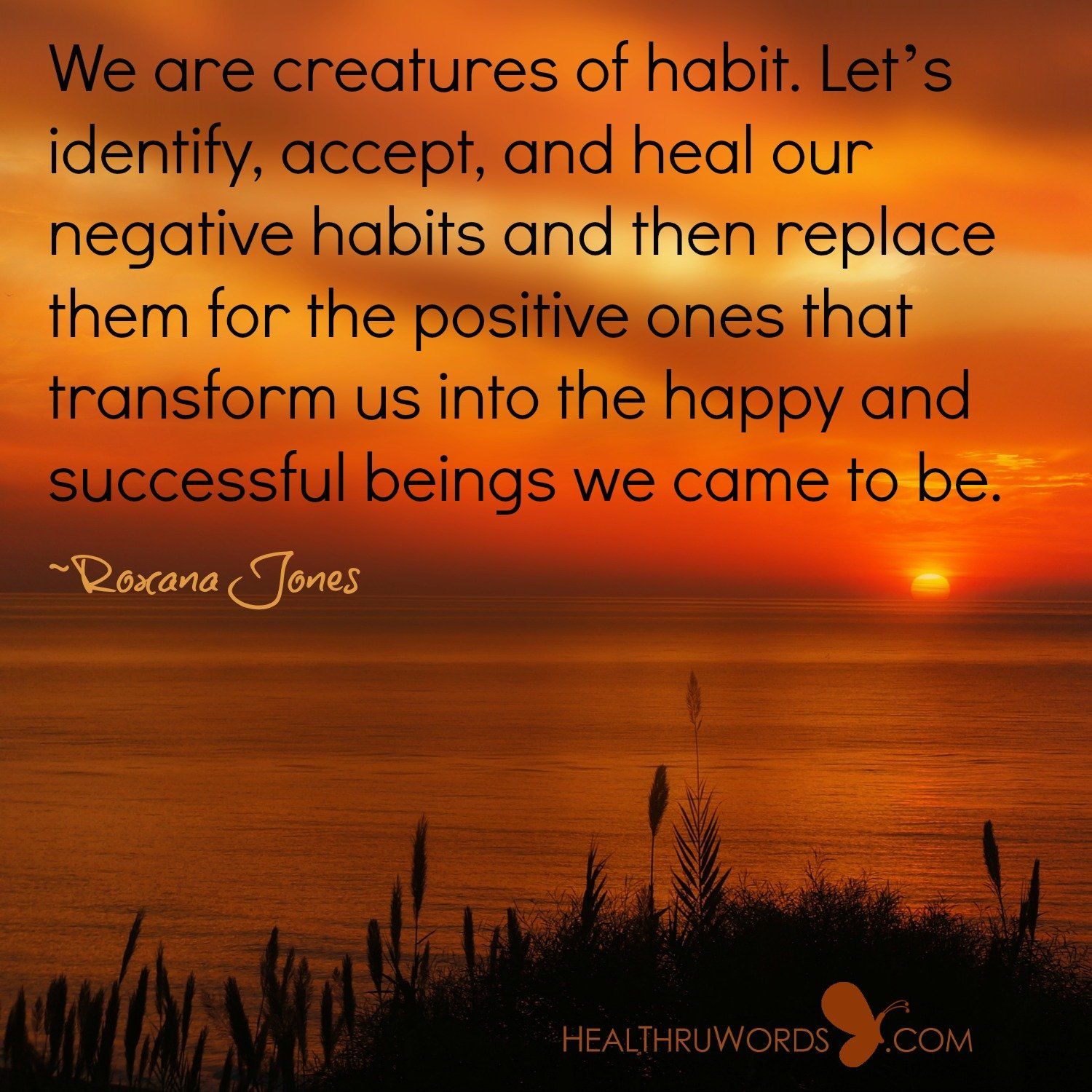 Inspirational Image: Successful Habits