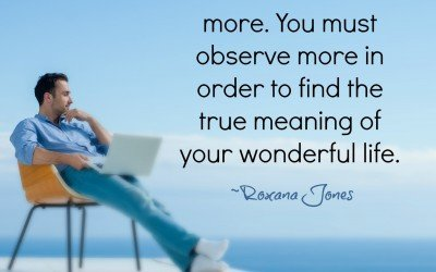 Becoming The Observer