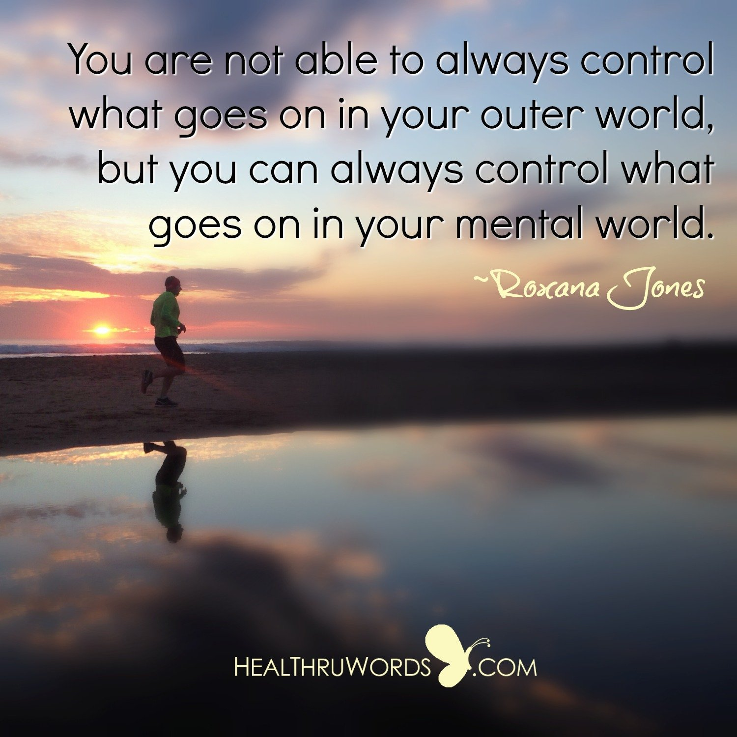 Inspirational Image: Controlling your Mind