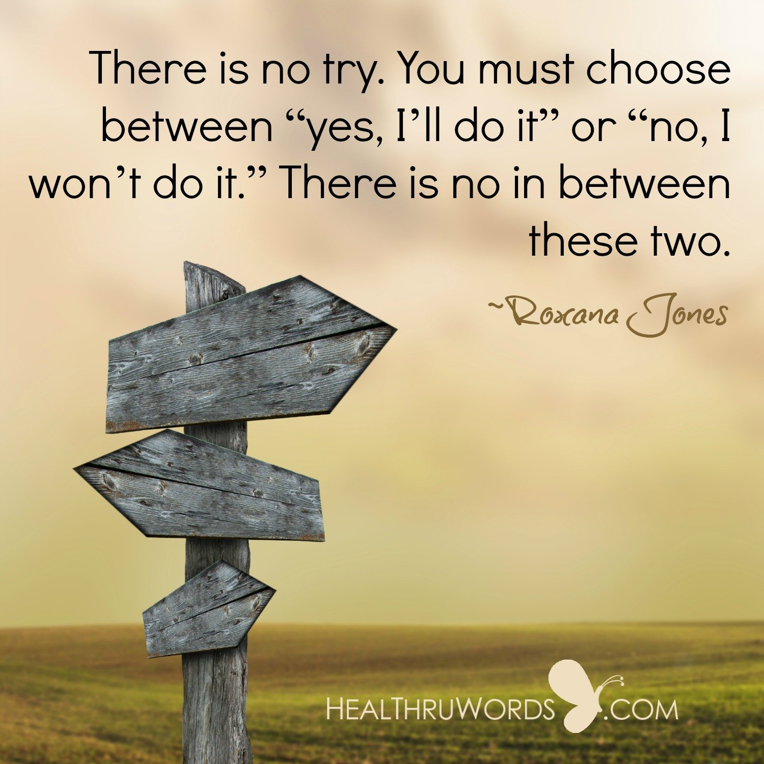 Inspirational Image: Indecisiveness
