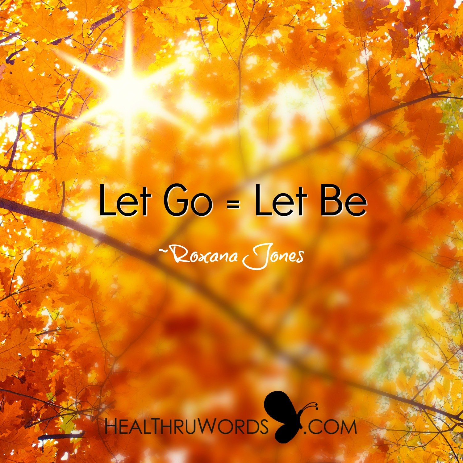 Inspirational Image: Let It Be