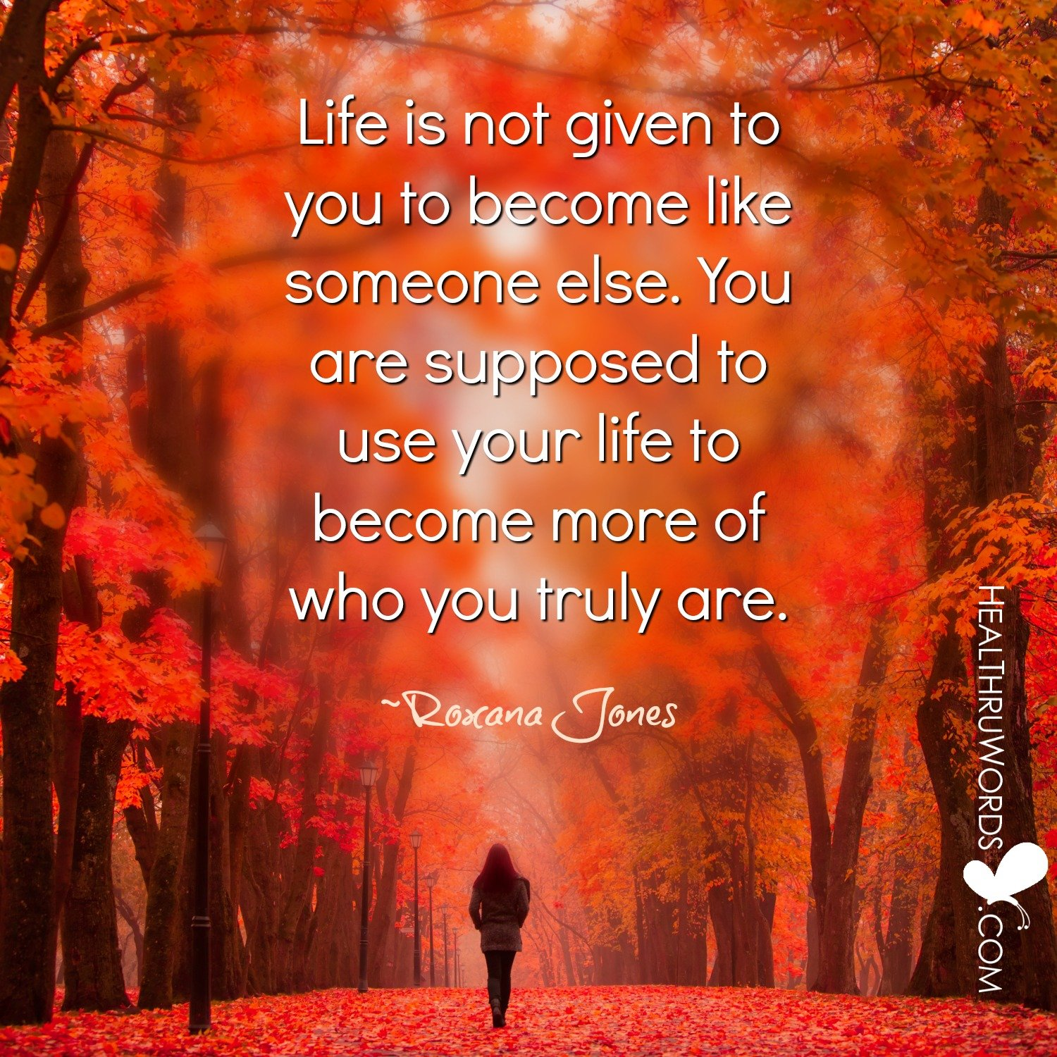 Inspirational Image: More of You