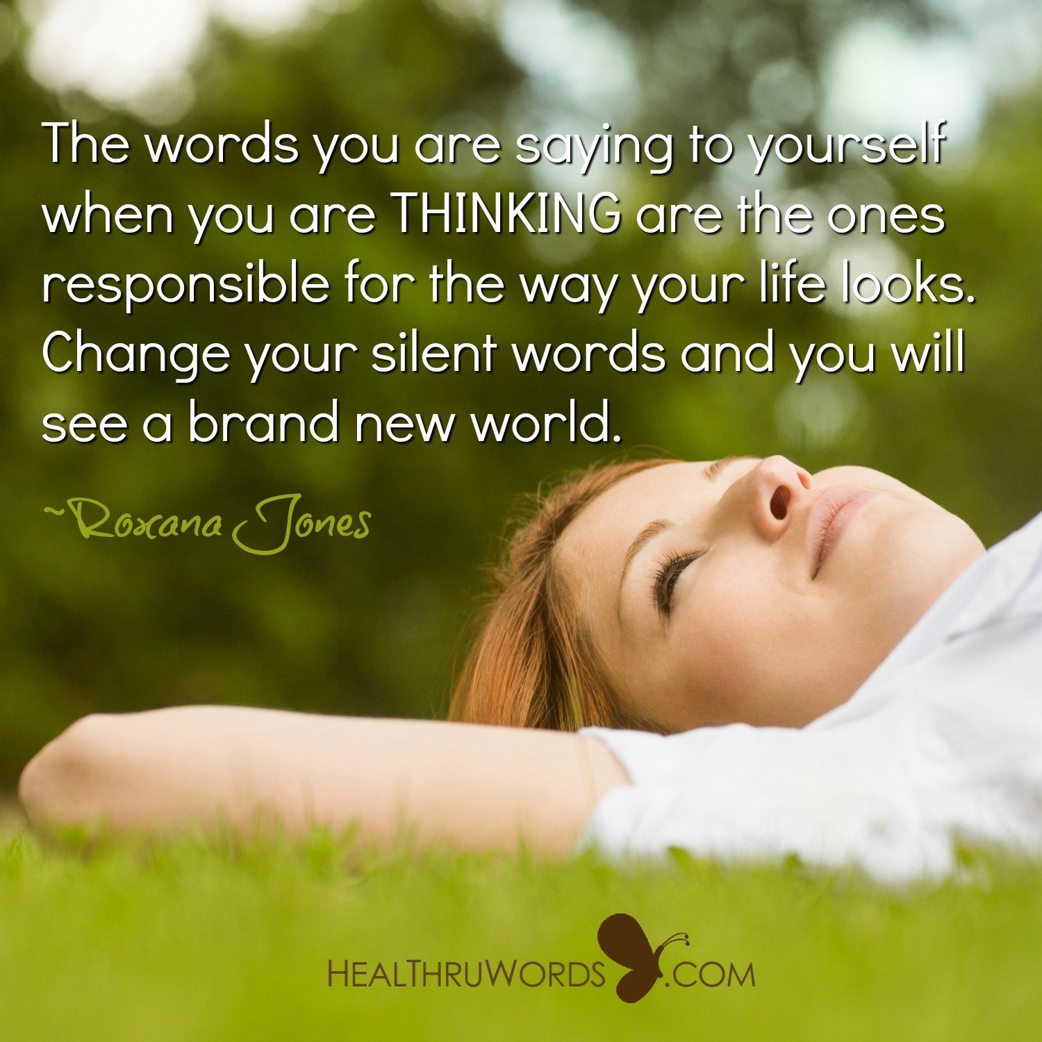 Inspirational Image: Silent Words