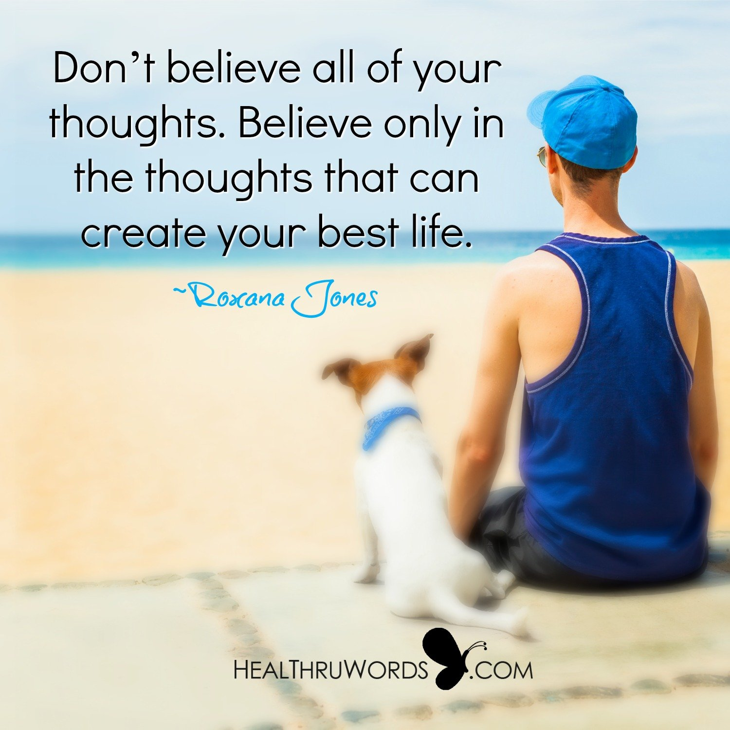 Inspirational Image: Creating through Thought