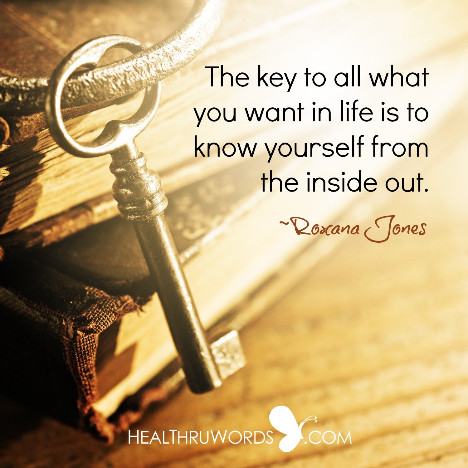 Inspirational Image: The Key to your Wishes