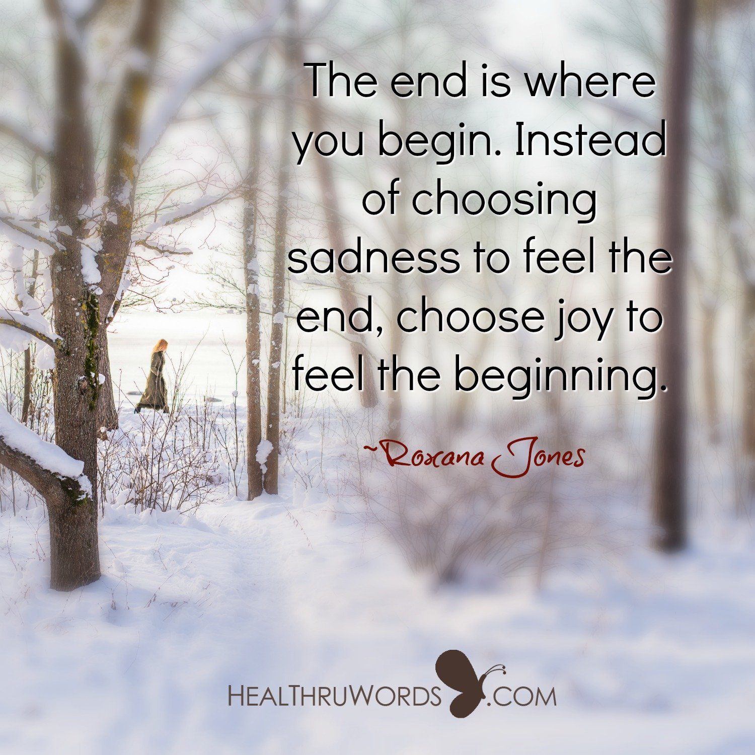 Inspirational Image: Begin