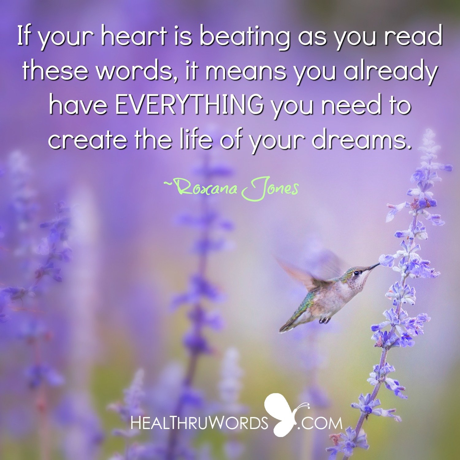 Inspirational Image: Does your Heart Beat?