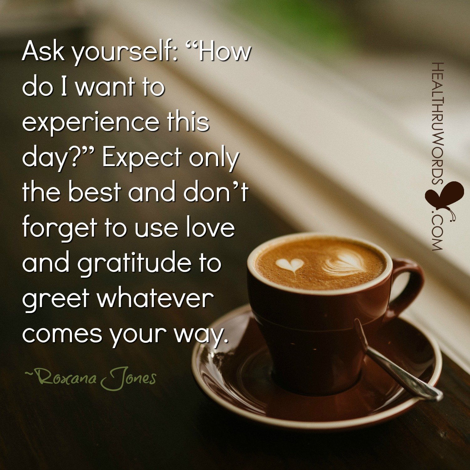 Inspirational Image: Creating your Day