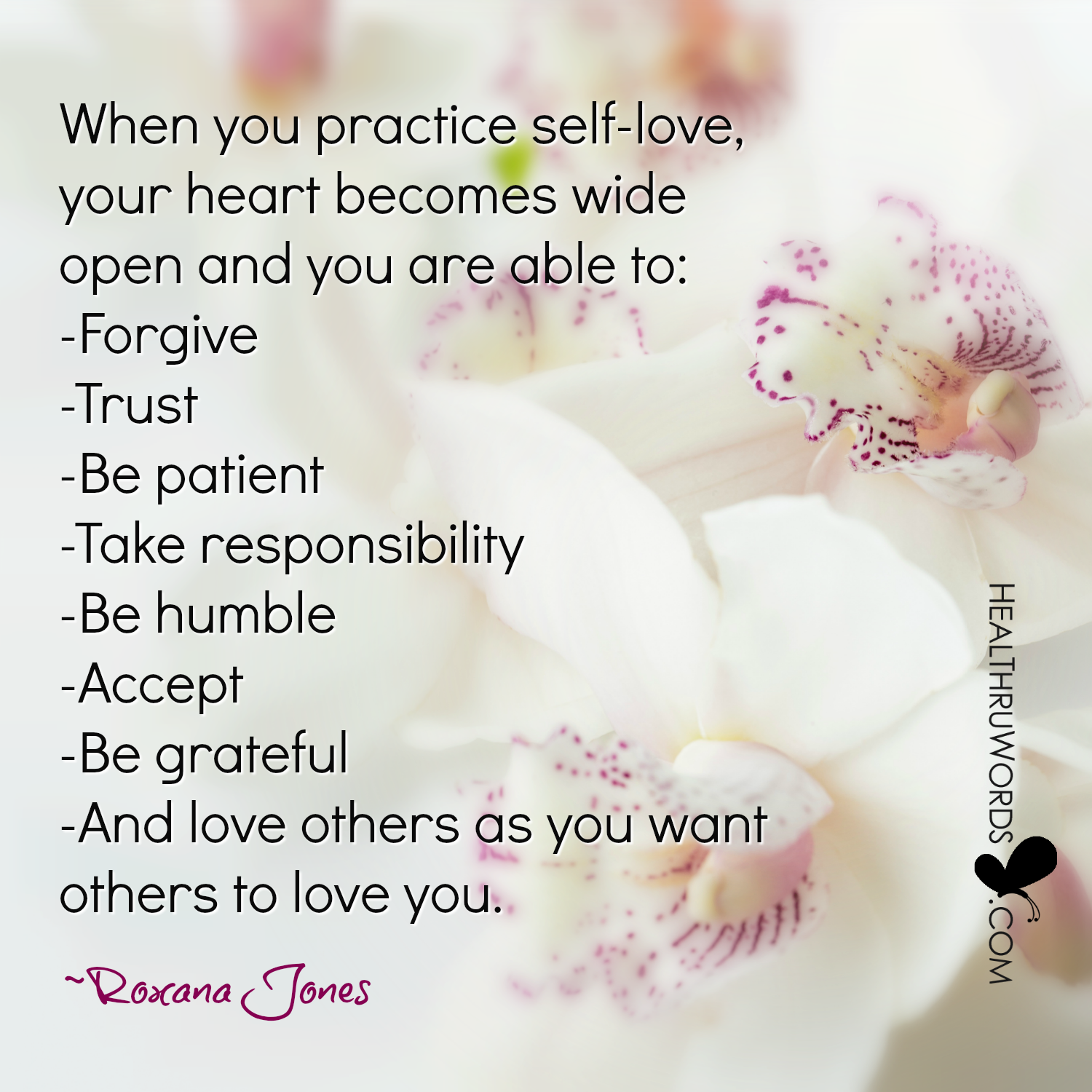 Inspirational Image: The Benefits of Self-love