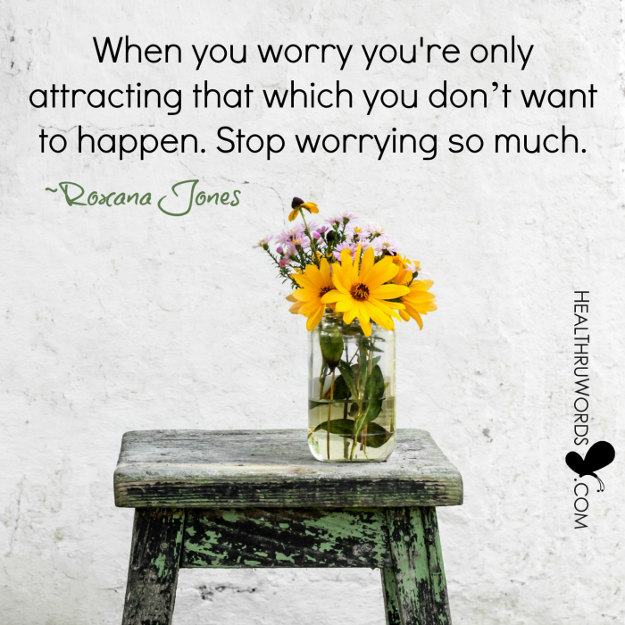Inspirational Image: Worry-free