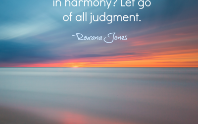 From Judgment to Harmony