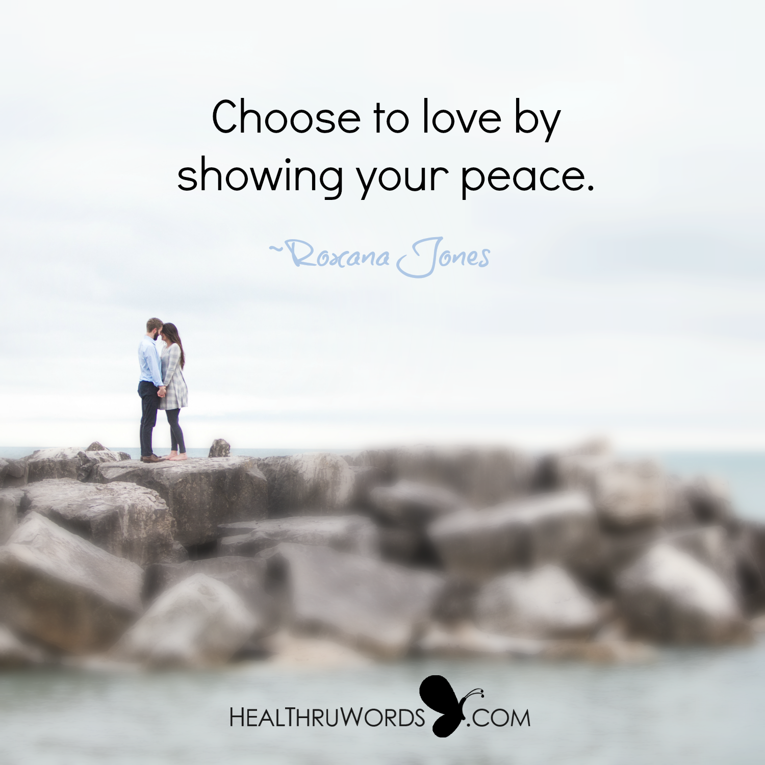 Inspirational Image: Peaceful Love