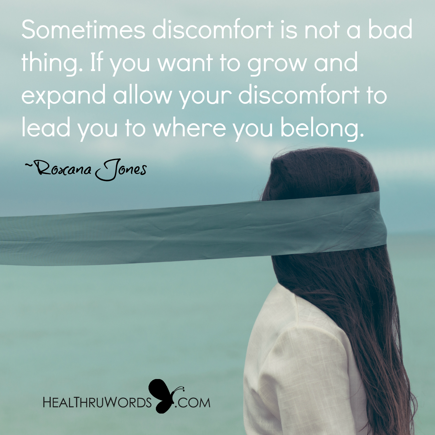 Inspirational Image: The Blessing of Discomfort