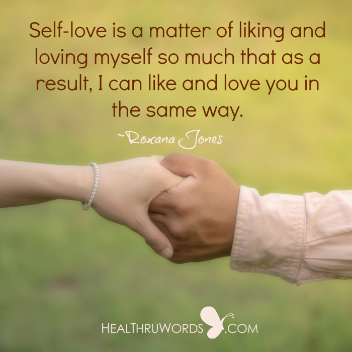 Inspirational Image: Love is your Reflection