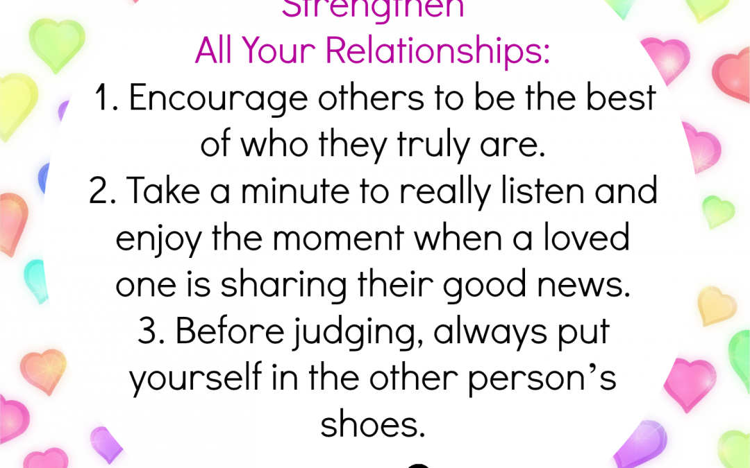 Strengthening Your Relationships