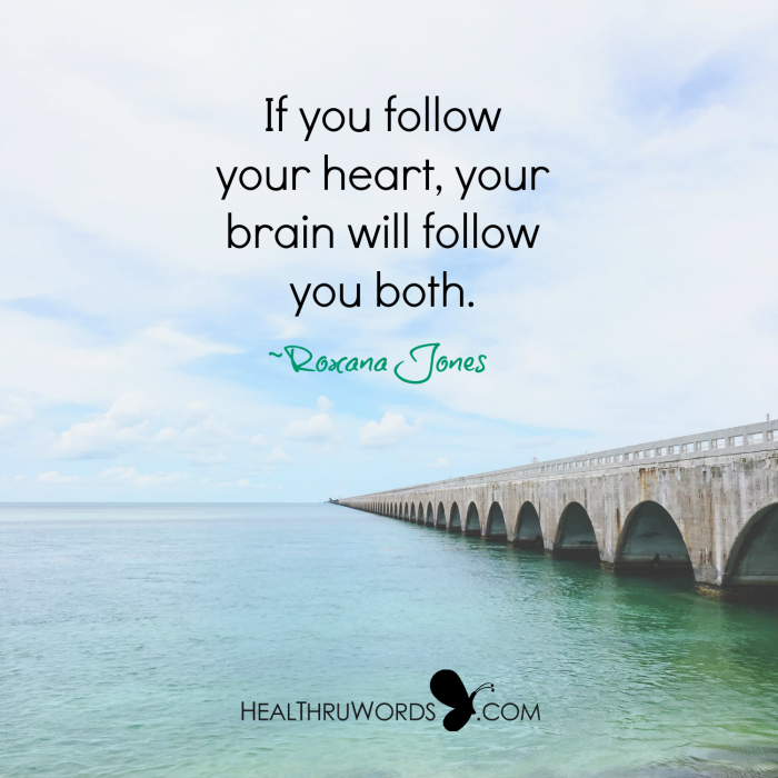 Inspirational Image: Brain and Heart Connection