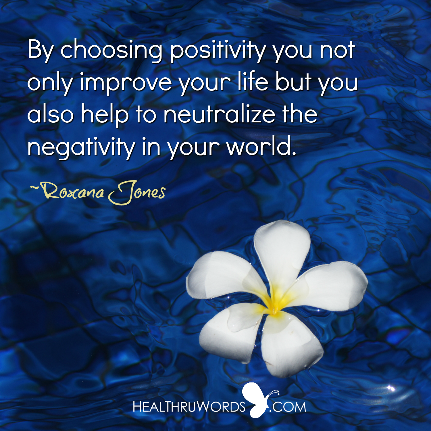 Inspirational Image: Neutralizing Negativity