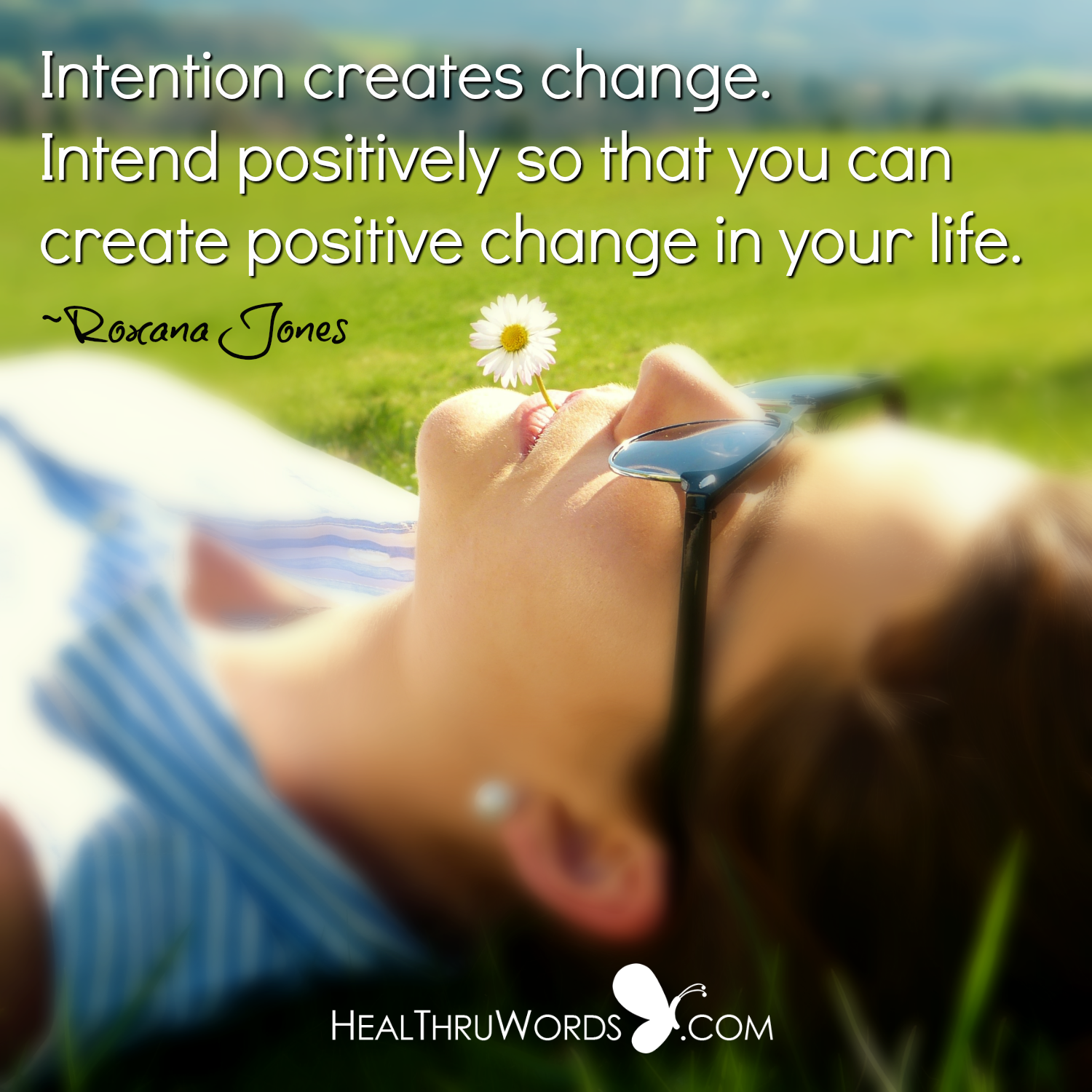 Inspirational Image: Positive Intentions