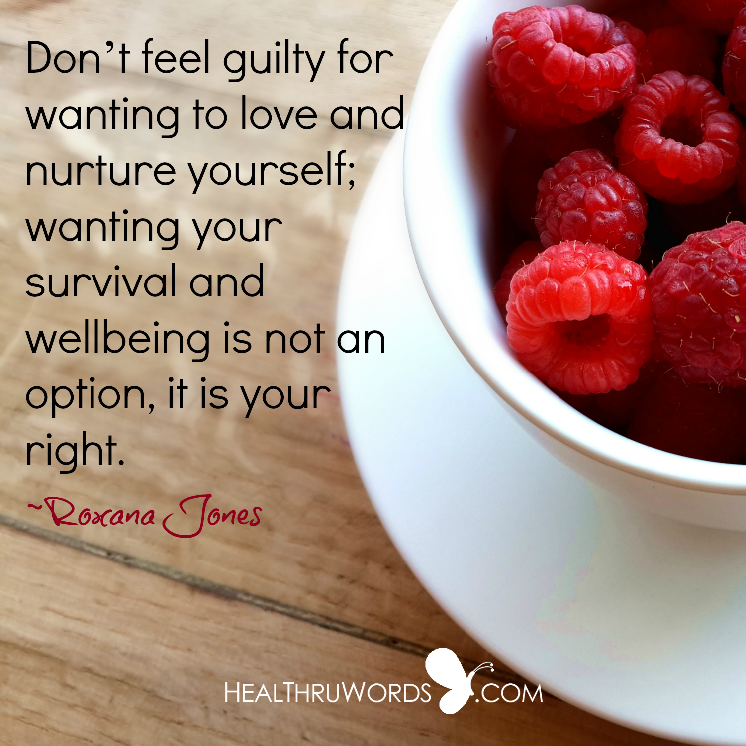 Inspirational Image: Your Wellbeing First