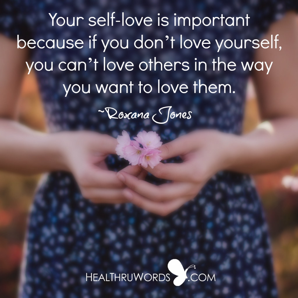 Inspirational Picture - Self-love and Relationships
