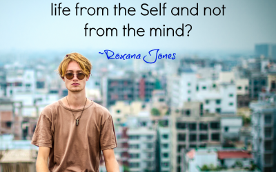 Living from the Self