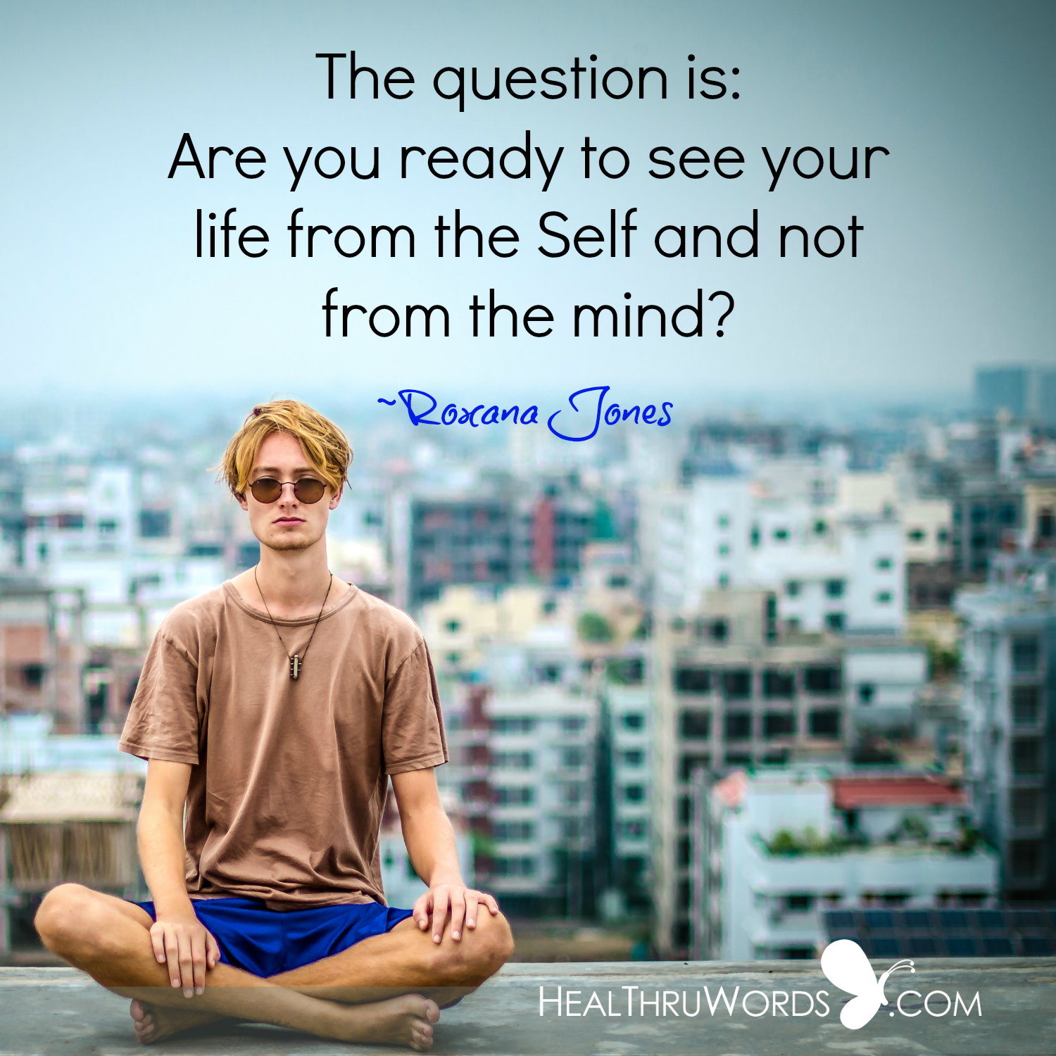 Inspirational Image: Living from the Self
