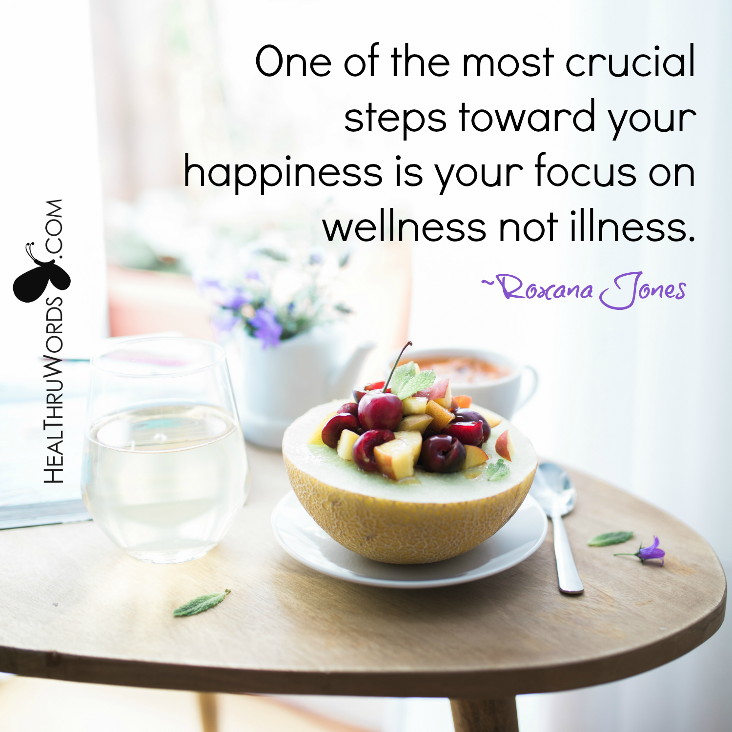 Inspirational Image: Wellness Comes First
