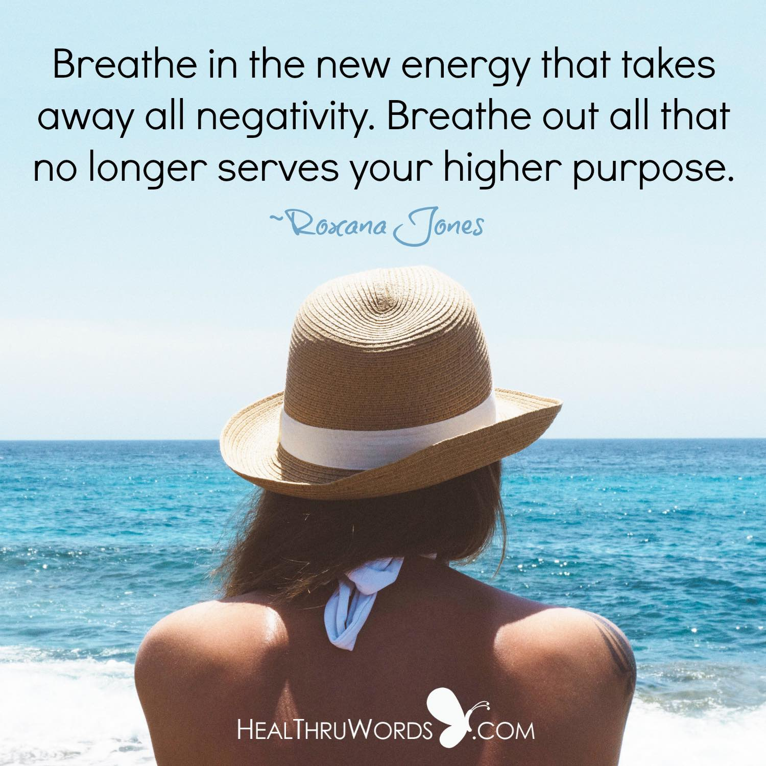 Inspirational Image: Breathing the New