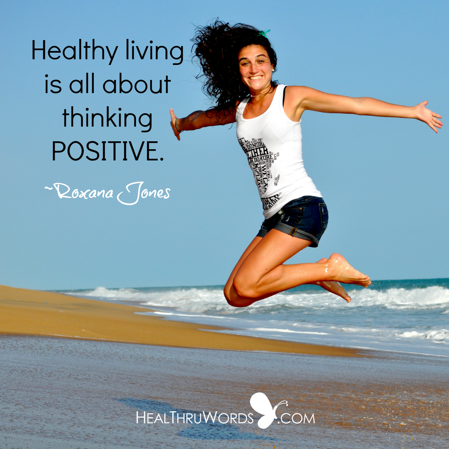 Inspirational Image: Health and Positivity