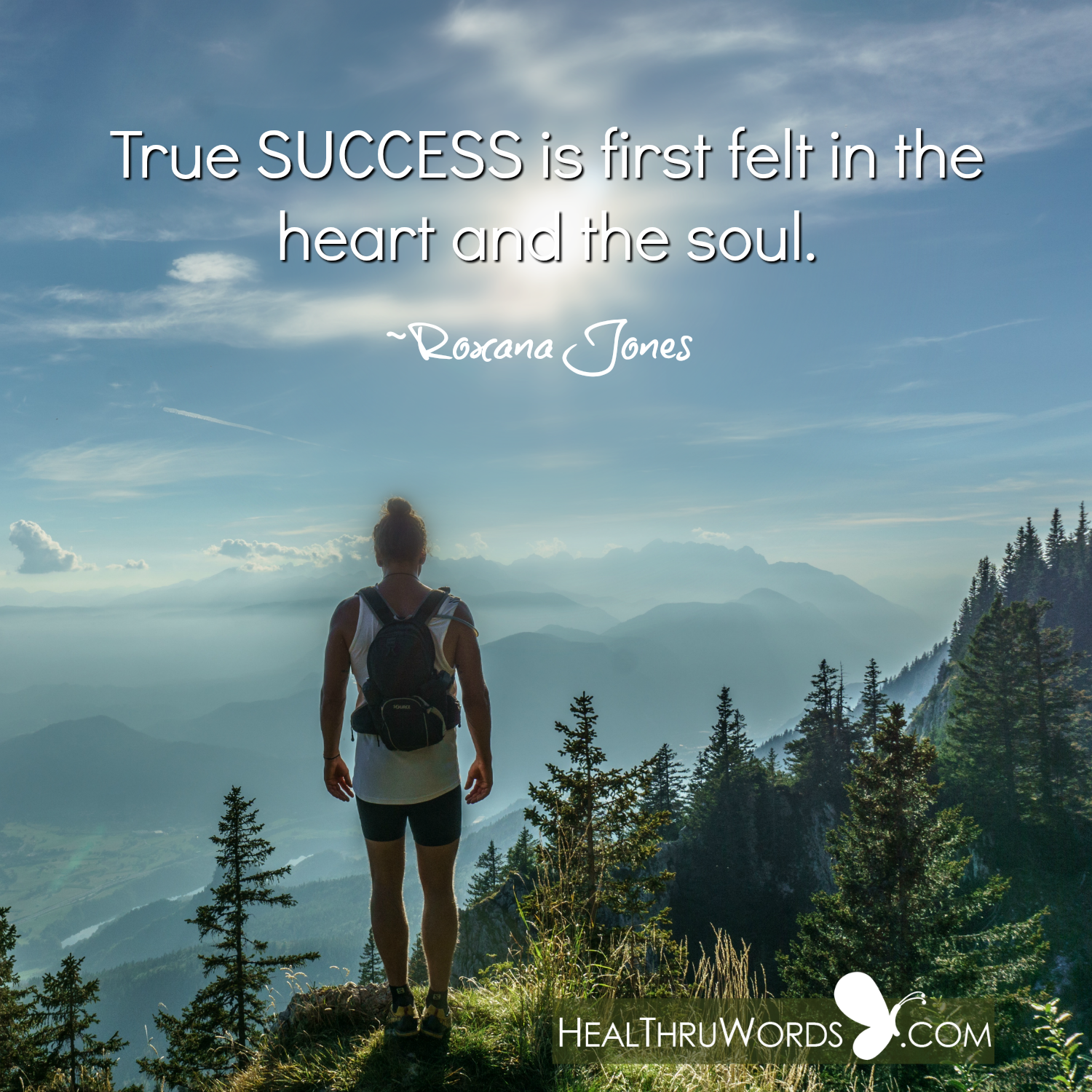Inspirational Image: Heartful Success