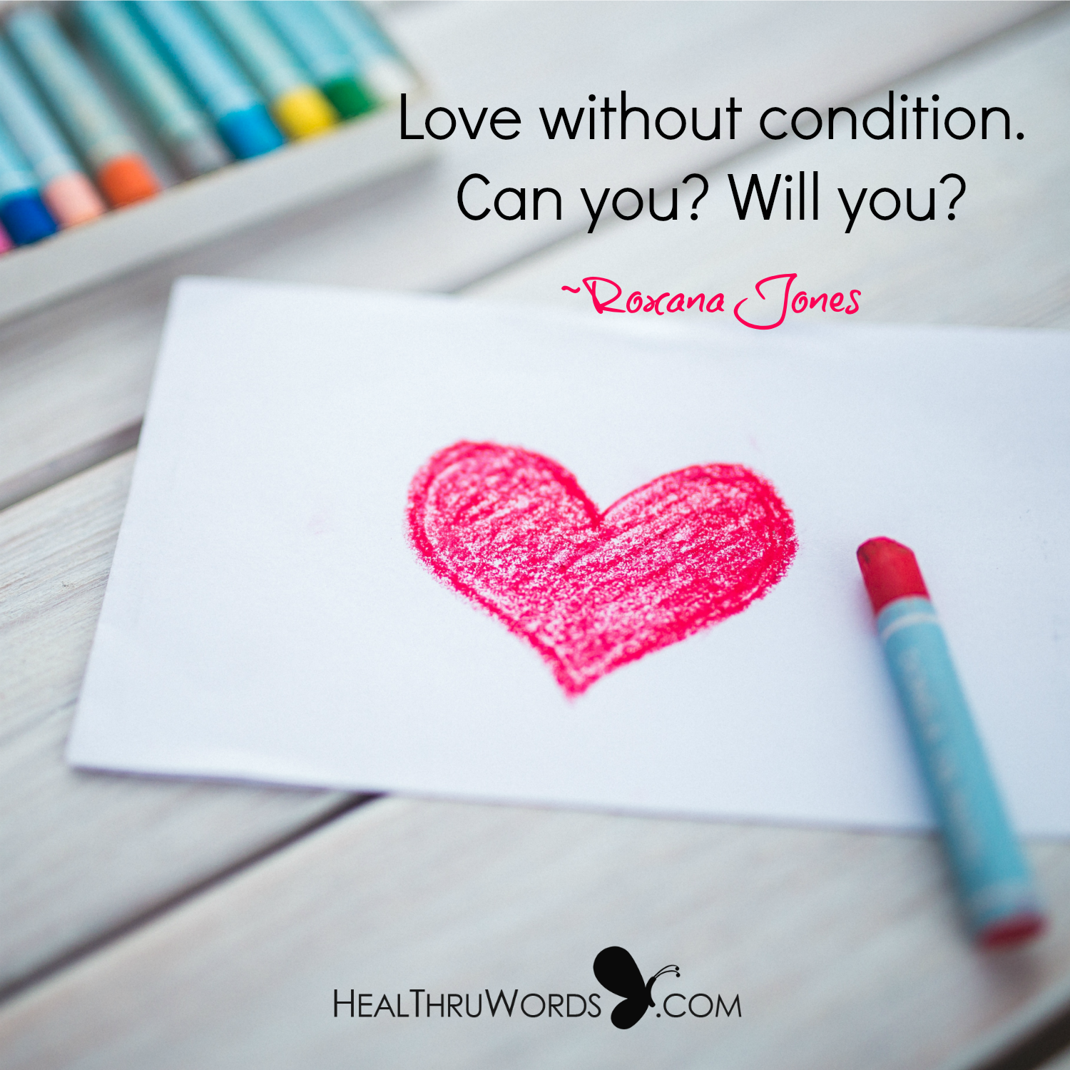 Inspirational Image: Love Without Mind