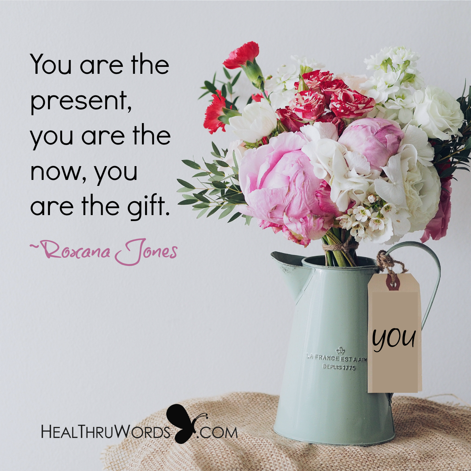 Inspirational Image: Presence of You