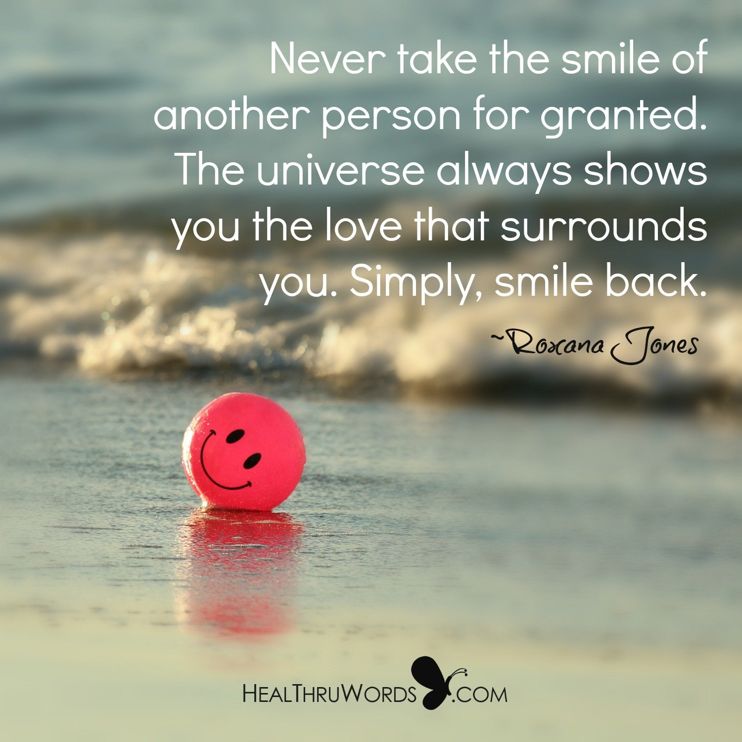 Inspirational Image: Receive Life's Love