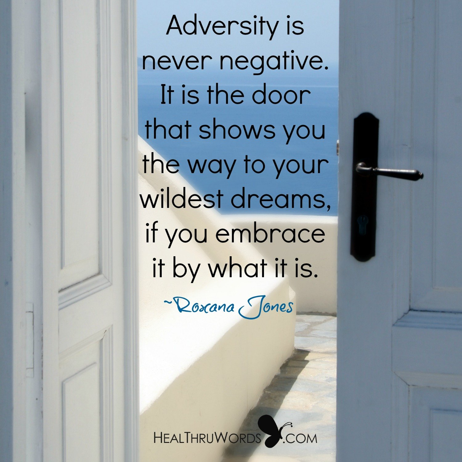 Inspirational Image: The Door to your Dreams