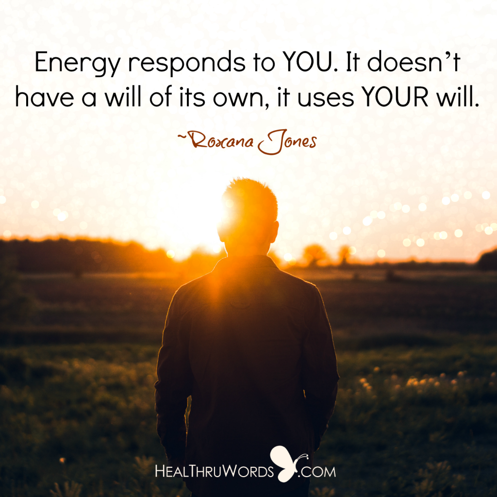 Inspirational Quote - The Energetic You