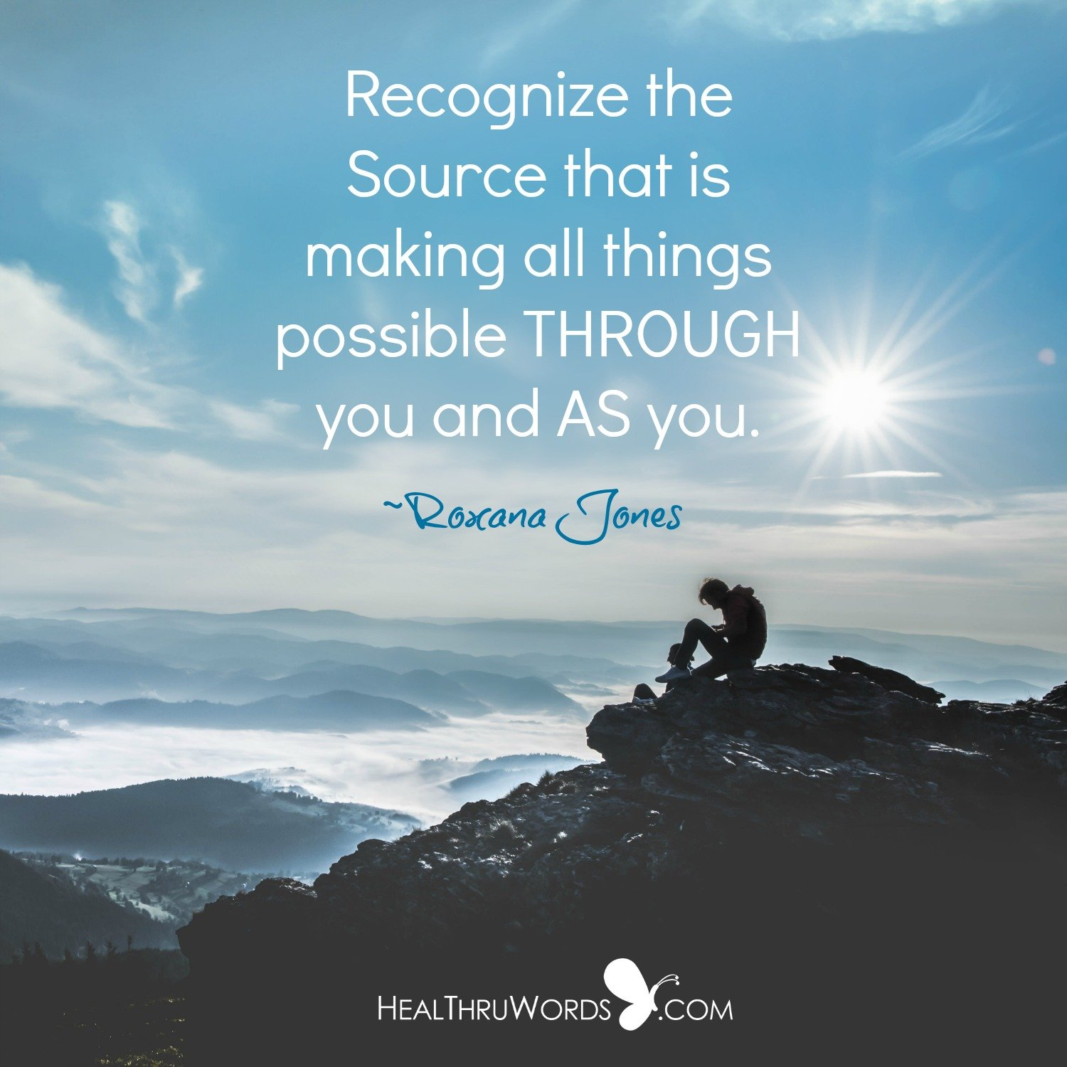 Inspirational Image: The Source of You