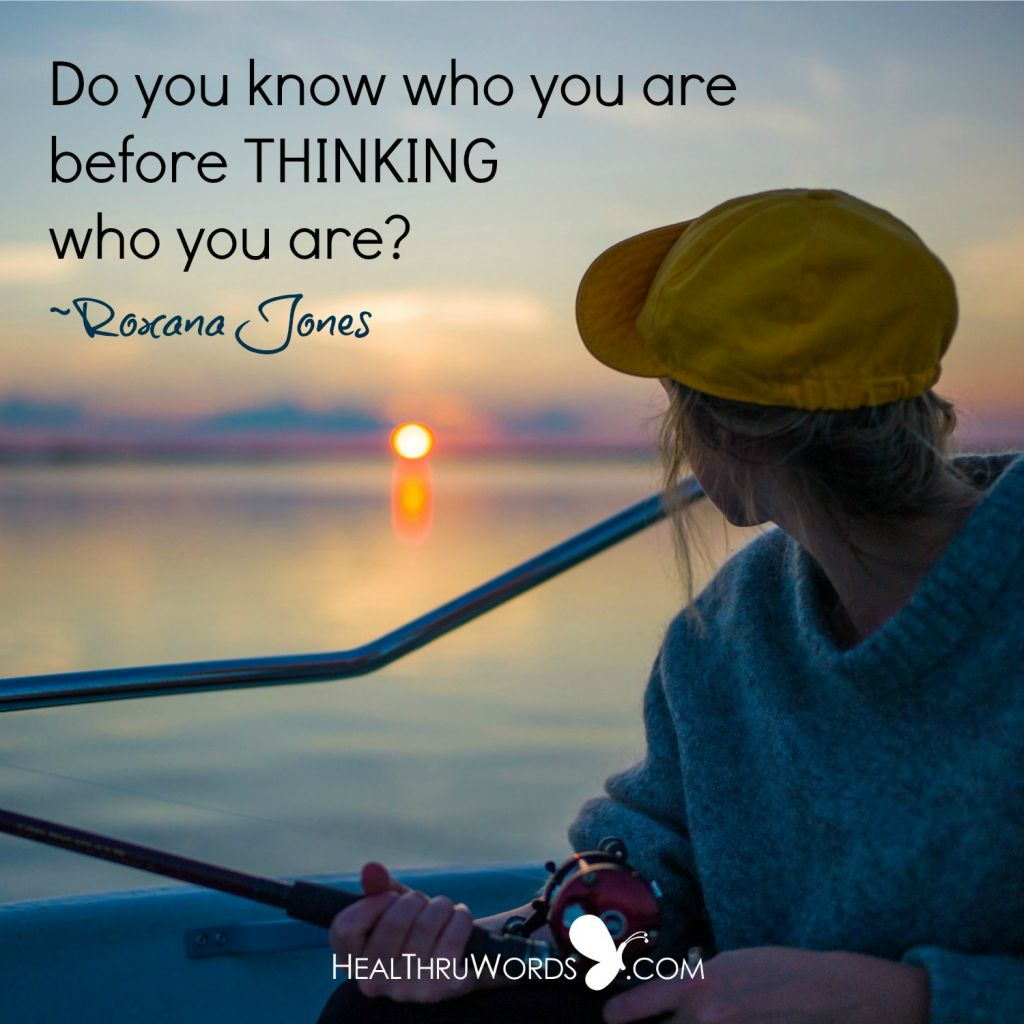 Motivational Image - Being Before Thinking