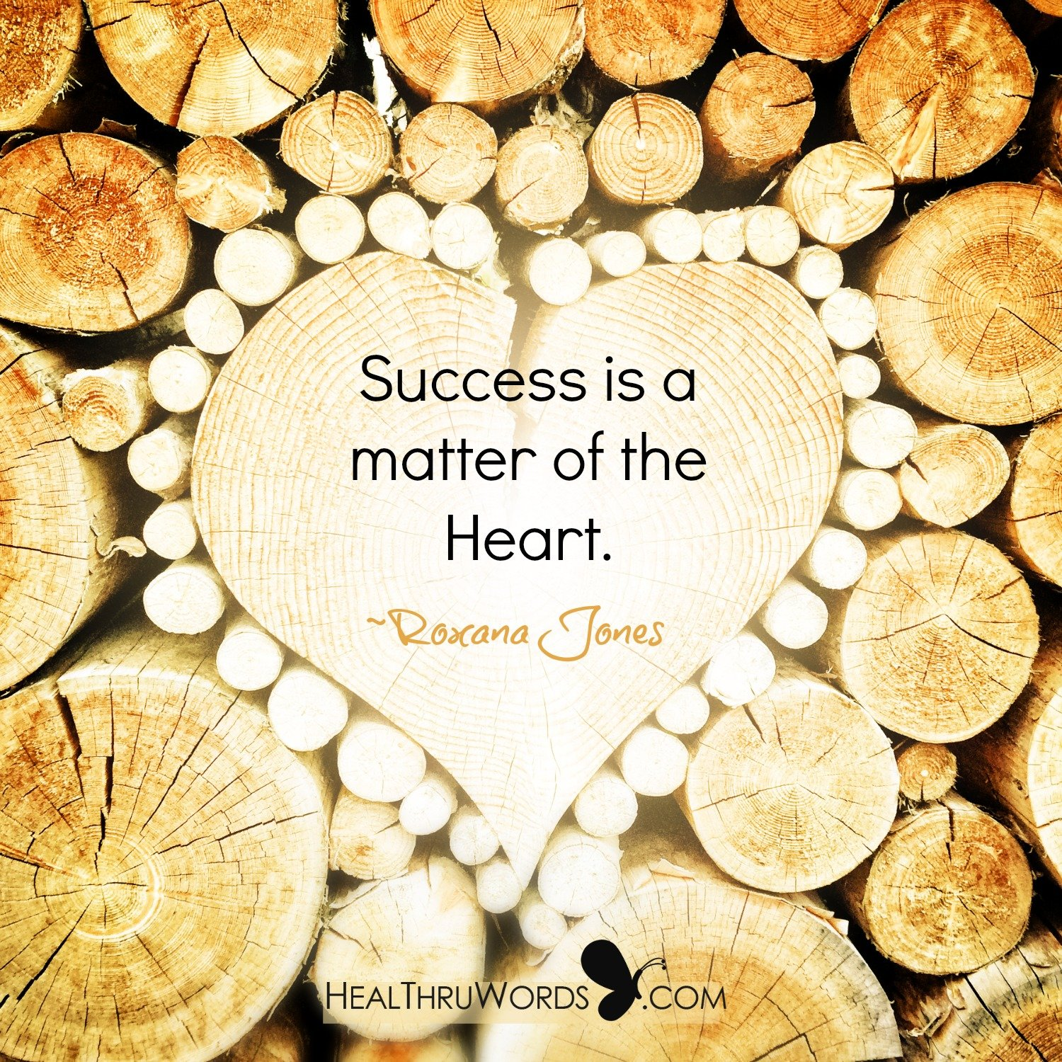 Inspirational Image: Heartfelt Success