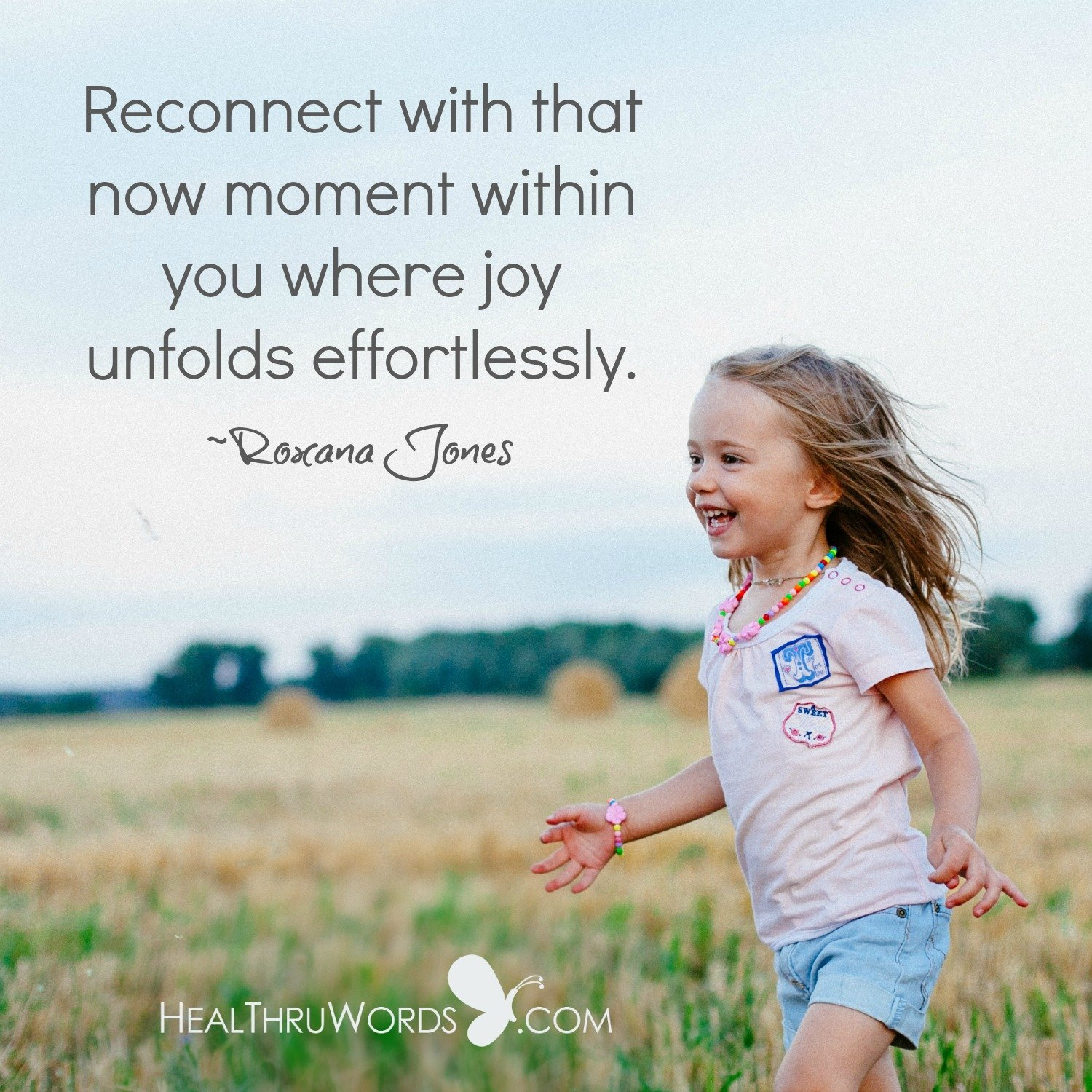 Inspirational Image: The Joy of the Now
