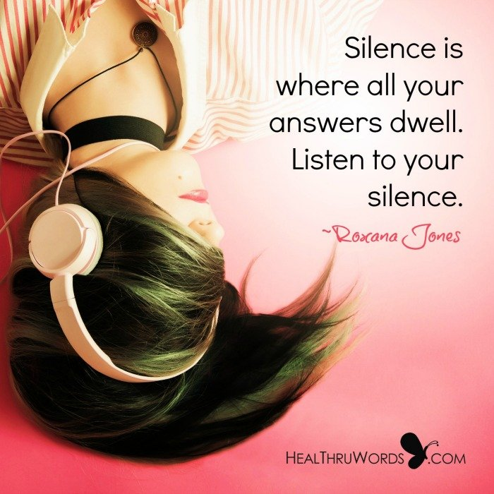 Inspirational Image: When Silence Speaks